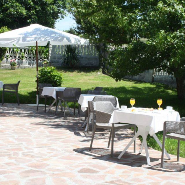 Terraza y Jardín